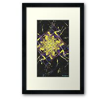 Abstract diamonds Framed Print