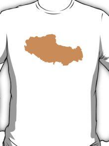 Tibet map T-Shirt