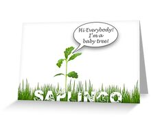 Saplingo Greeting Card