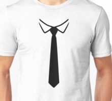 Shirt collar tie Unisex T-Shirt
