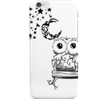 Intricate Owl at Musical Midnight iPhone Case/Skin