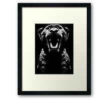 Lion Rawr Framed Print