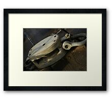 pullies Framed Print