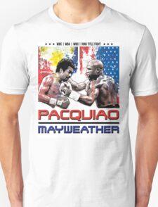Pacquiao Mayweather shirt T-Shirt