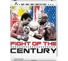 Pacquiao Mayweather shirt iPad Case/Skin