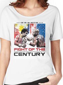Pacquiao Mayweather shirt Women's Relaxed Fit T-Shirt