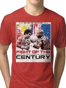 Pacquiao Mayweather shirt Tri-blend T-Shirt
