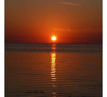 The Sun Must Set Photographic Print