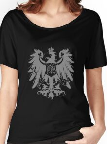 A Complete Guide to Heraldry - Figure 445 — Arms of the Prussian Province of Brandenburg (From Ströhl's Deutsche Wappenrolle) Women's Relaxed Fit T-Shirt