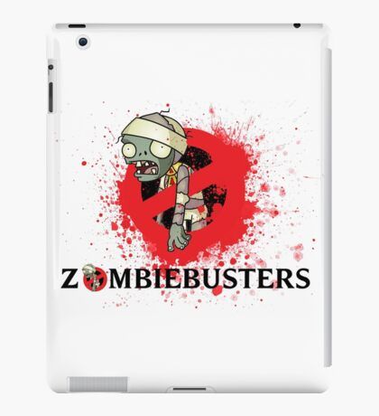 zombie busters (ghostbusters) iPad Case/Skin