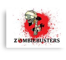 zombie busters (ghostbusters) Canvas Print