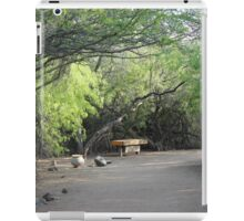 Bench & Tree Arches  iPad Case/Skin