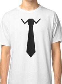 Tie collar Classic T-Shirt