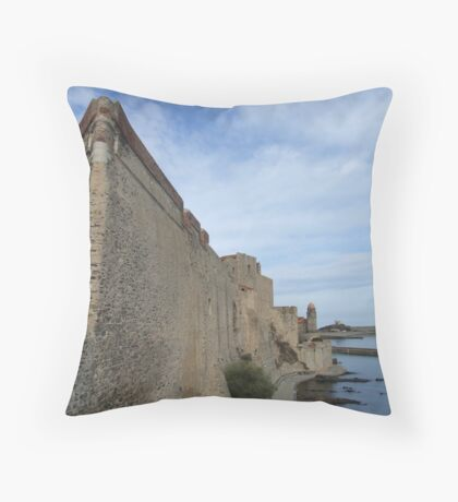 Coullioure Throw Pillow