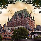 Chateau Frontenac at Sunset by Yannik Hay