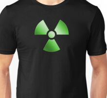 Radioactive Symbol Warning Sign - Radioactivity - Radiation - Green Unisex T-Shirt