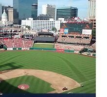 Busch Stadium - St. Louis Cardinals Baseball by laurenmoe