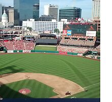 Busch Stadium - St. Louis Cardinals Baseball by laurenmoe