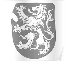 A Complete Guide to Heraldry - Figure 279 — Lion rampant (By Mr G Scruby) Poster