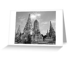 Ayutthaya Greeting Card