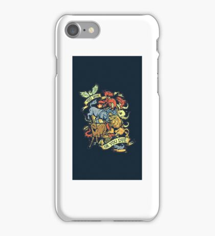 When You Play the Game of Thrones iPhone Case/Skin