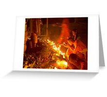 Thai prayers Greeting Card