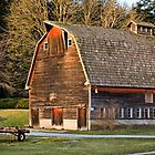 Lovely Old Barn by Appel