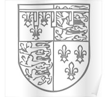 A Complete Guide to Heraldry - Figure 726 — George Plantagenet, Duke of Clarence, brother of Edward IV Poster