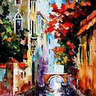 Morning In Venice — Buy Now Link - www.etsy.com/listing/228202707 by Leonid  Afremov