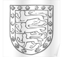 A Complete Guide to Heraldry - Figure 709 — John de Holand, Duke of Exeter, son of preceding Arms as preceding (From his seal) Poster