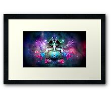 SPACE ELEPHUNT Framed Print