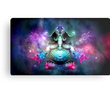SPACE ELEPHUNT Metal Print
