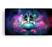 SPACE ELEPHUNT Canvas Print