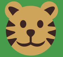 Comic tiger head Kids Clothes