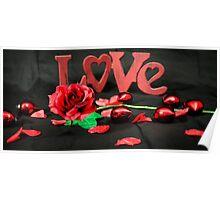 LOVE 'N Flowers Poster