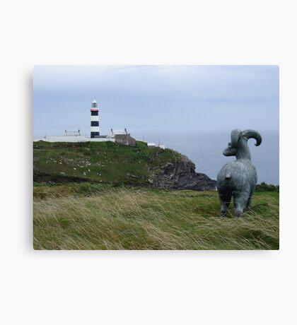 Lighthouse, Near Kinsale Canvas Print