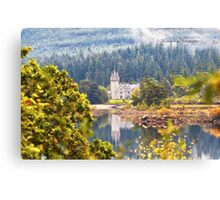 Glen Bogle Castle (Ardverikie Estate, Kinlochlaggan, Inverness-shire, Scotland) Canvas Print