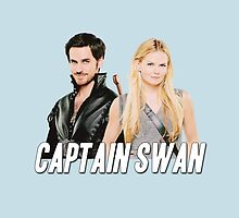 Captain Swan, Once Upon a Time by yourfriendelle