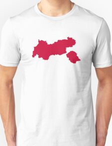 Tirol map austria T-Shirt