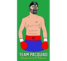 Manny Pacquiao - Bane Parody Photographic Print