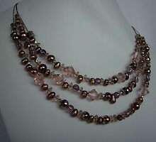 Swede necklace  by honeyjewel