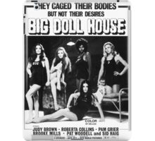 Big Doll House (Black & White) iPad Case/Skin