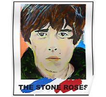 Stone Roses Acrylic Portrait Poster