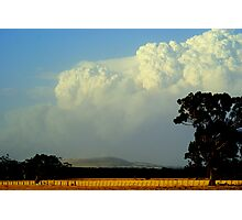Smokin Cloud Photographic Print