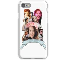 Actual Goddess Sierra Boggess iPhone Case/Skin