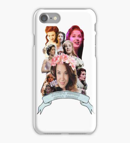 Actual Goddess Sierra Boggess iPhone Case/Skin
