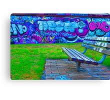Graffiti.. Canvas Print