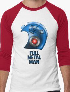 Full Metal Man Men's Baseball ¾ T-Shirt
