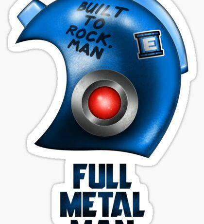 Full Metal Man Sticker