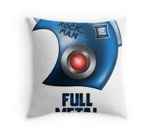 Full Metal Man Throw Pillow